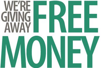 Make money online giving away free stuff online