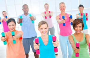 diverse_group_fitness_class_gym_weights